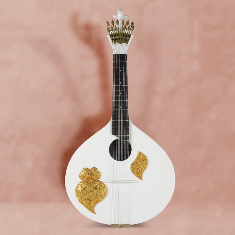Filigree portuguese guitar