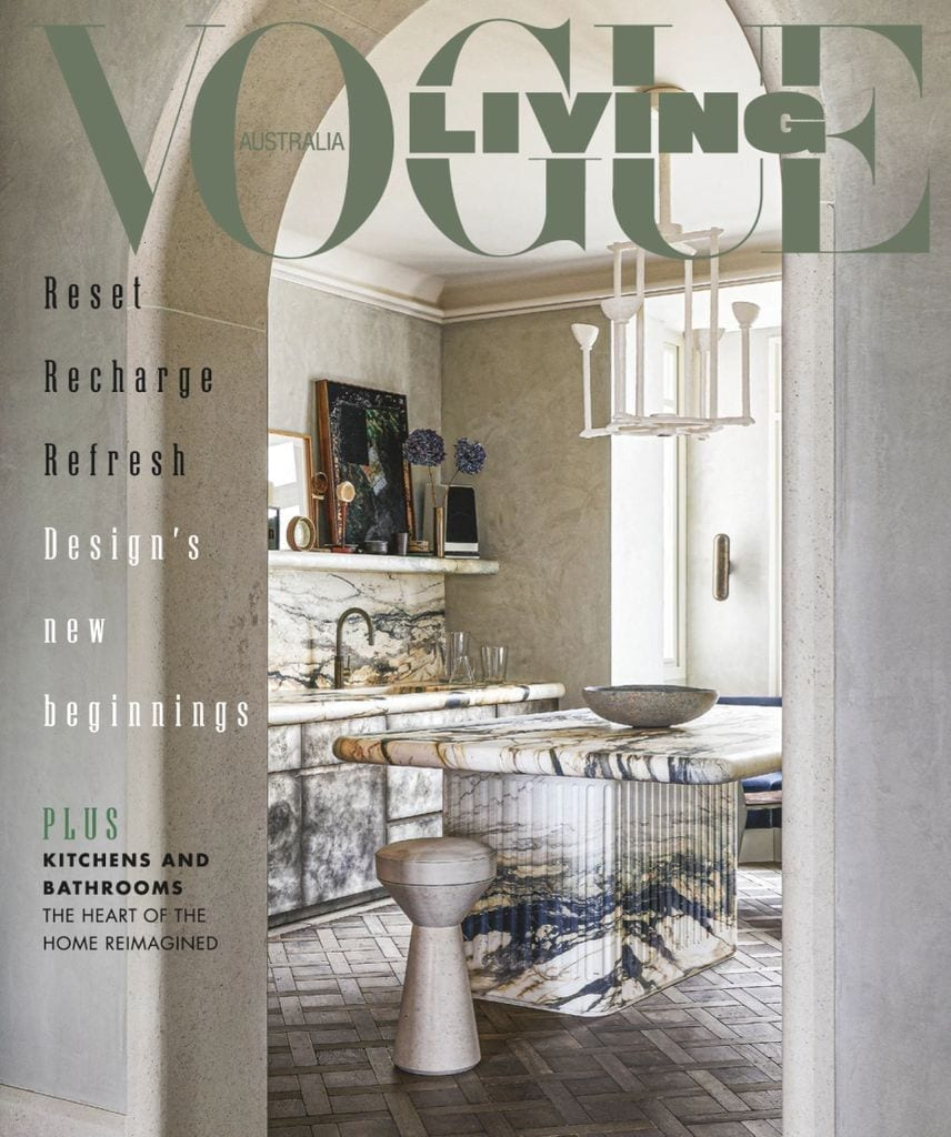 Most known interior design magazines- vogue living
