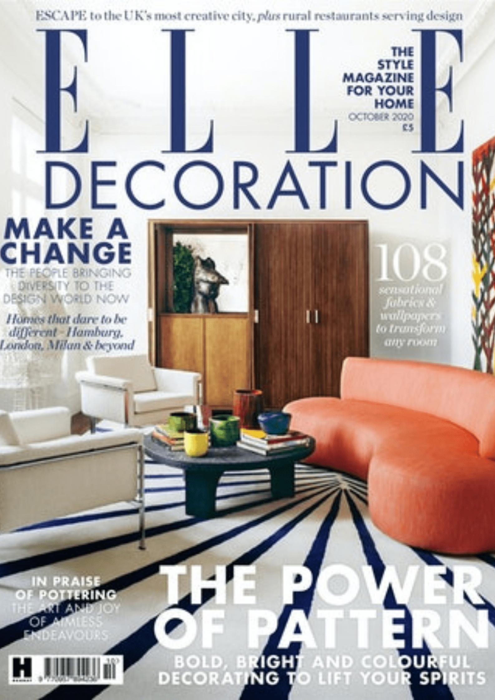 Most known interior design magazines - elle decor