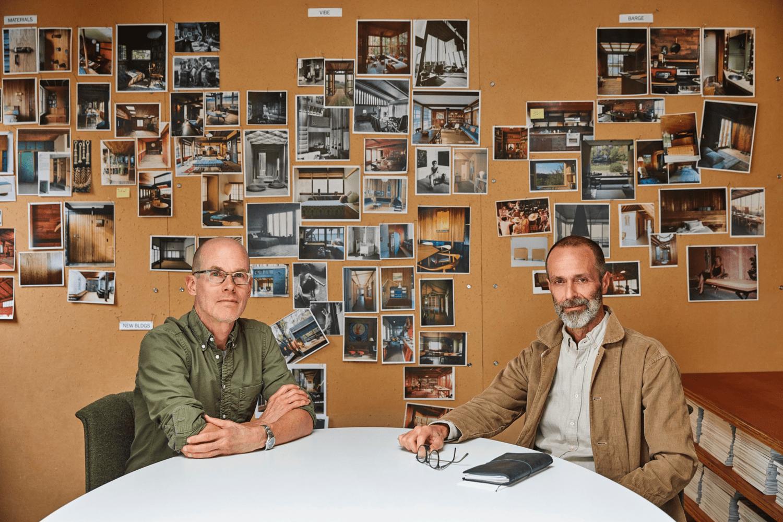Roman Alonso and Steven Johanknecht- Designers