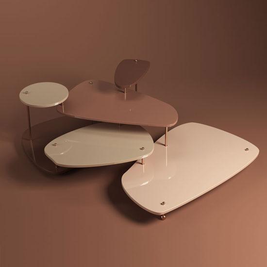 La toile center table