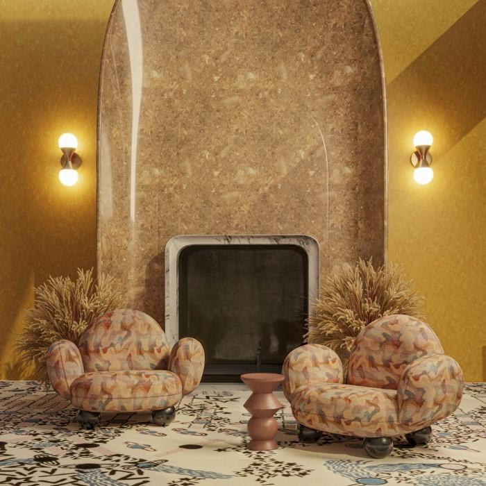 Gala armchair