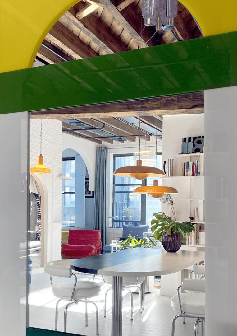 Pop colors - apartment brooklyn - by malabar