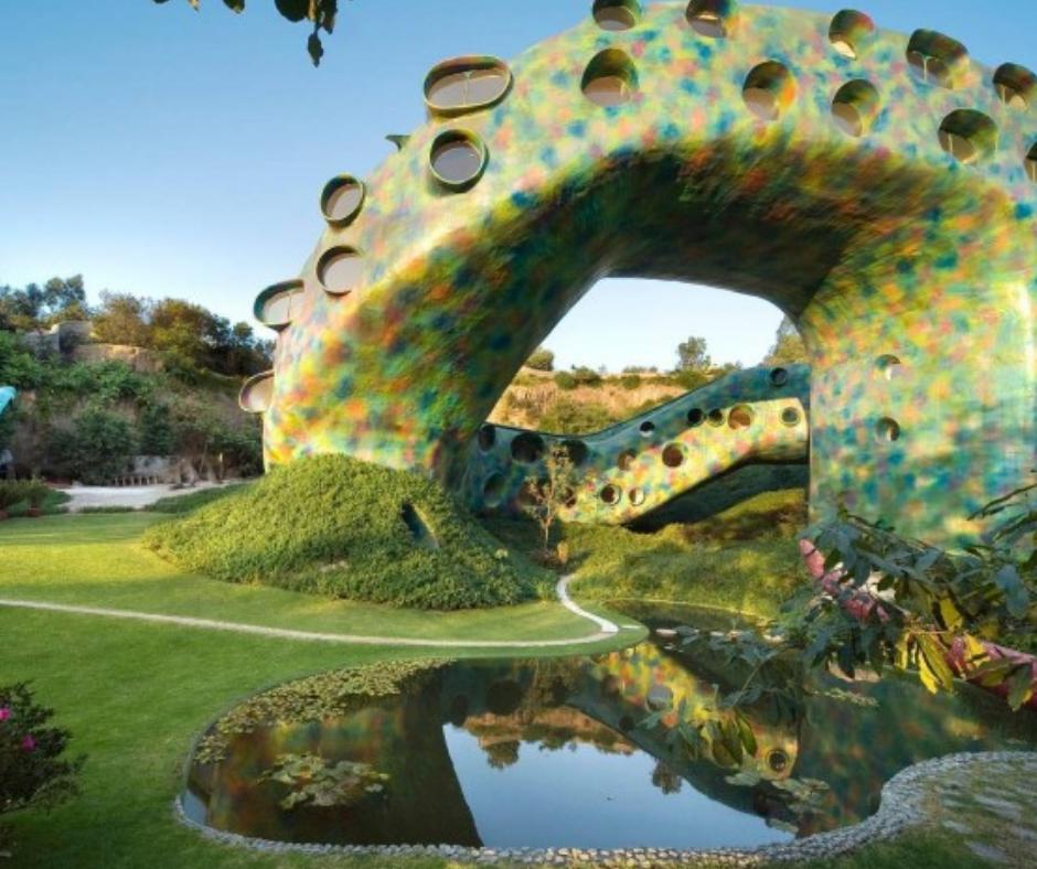 Quetzalcoatl's nest - airbnb - interior design - malabar
